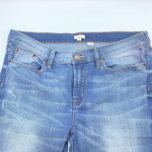 J. Crew Light Wash Straight Leg Stretch Jeans Sz32